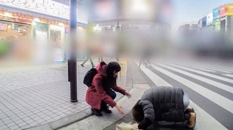 【ナンパTV】マジ軟派、初撮。 1257 莉花 19歳 丸●製麺(うどん屋)でバイト 2