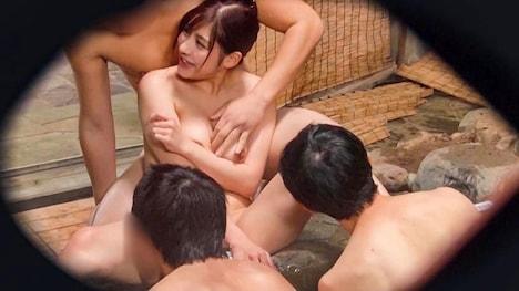 【タオル一枚 男湯入ってみませんか?】りさ(22)推定Hカップ 伊豆長岡温泉で見つけた女子大生 タオル一枚 男湯入ってみませんか? 9