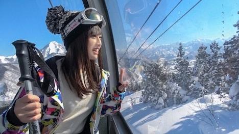 【ナンパTV】ゲレンデナンパ 01 雪山ではド素人!布団の上ではテクニシャン!スティック握るよりもチ〇ポ握るのが得意なスケベ美少女!! もえ 21歳 歯科衛生の専門学生 2