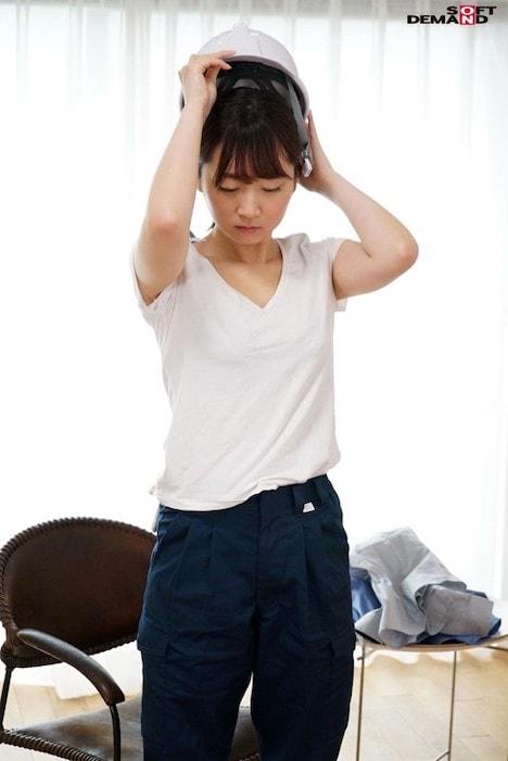【新作】男まさりの工業系女子が仕事で使う作業着姿のままAV出演 初めてチ○ポの快感を知り完全メス堕ち! 西條いつき 2