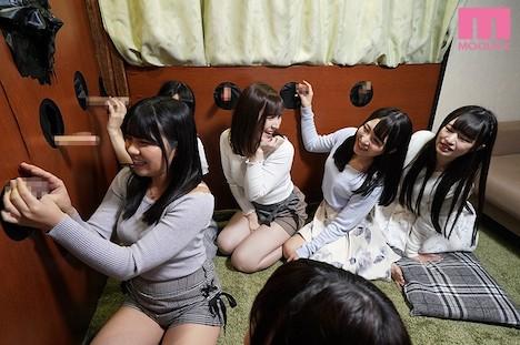 珍棒館 壁ち●ぽの館に迷い込んだ卒業旅行中の女子大生6人組