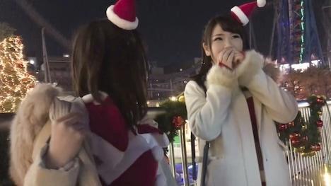 【黒船】【クリスマスナンパ×Fカップ・のぞみちゃん編】クリスマス当日に露出多めのサンタコスでインスタ映え写真を撮ってたセクシー巨乳サンタさんがエロかった! のぞみ ペットショップ店員 2