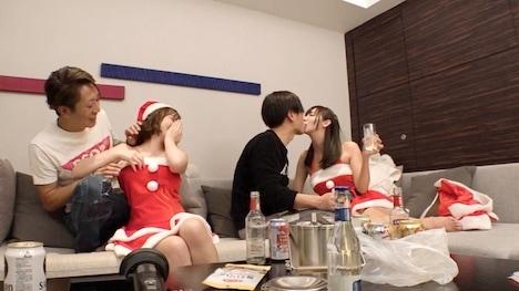 【黒船】【クリスマスナンパ×えりかちゃん編】部屋内大量ホウニョウしちゃうパリピで肉食系なキャンギャル先輩えりかちゃんのヤル気と手の速さが刺激的なエロサンタクリスマスパーティー! 3