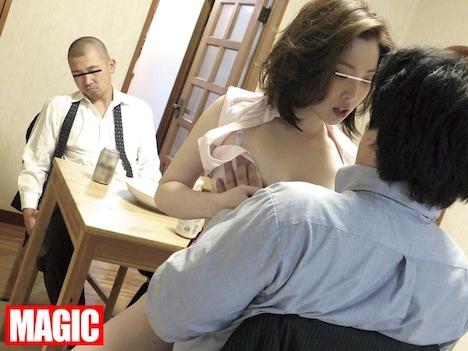 隠れて兄嫁を寝取った結果…興奮した兄嫁がおかわりセックスを求め強制的に中出しさせられた! 本庄優花