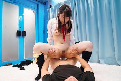 【SODマジックミラー号】えま 色白むっちりドすけべボディの女子〇生が初めての拘束おもちゃ体験で赤面SEX! 16