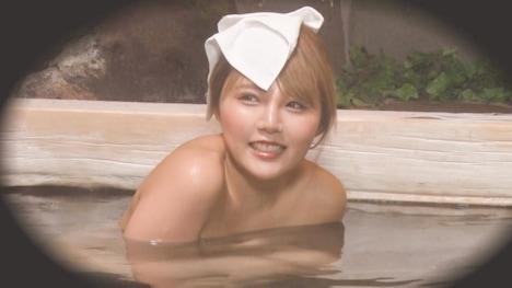 【顔出し!はじらい素人】タオル一枚 男湯入ってみませんか? ゆか(26)推定Cカップ 9