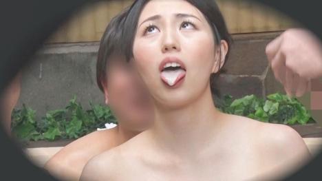 【顔出し!はじらい素人】タオル一枚 男湯入ってみませんか? みほ(32歳)推定Dカップ 12