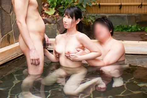 【顔出し!はじらい素人】タオル一枚 男湯入ってみませんか? ゆうこ(35歳)推定Dカップ 3