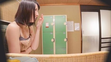 【顔出し!はじらい素人】タオル一枚 男湯入ってみませんか? ゆうこ(35歳)推定Dカップ 6