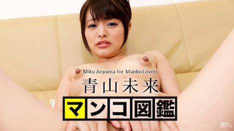 【カリビアンコム】マンコ図鑑 青山未来