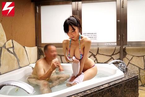 ナンパJAPAN検証企画!「絆を深めるためには混浴が一番って知ってましたか?」 オフィス街で声をかけた男上司と女部下が二人きりで初めての混浴体験!巨乳編!!但し用意された水着は極小マイクロビキニのみ!場所はラブホテルのジャグジー! 白石りん