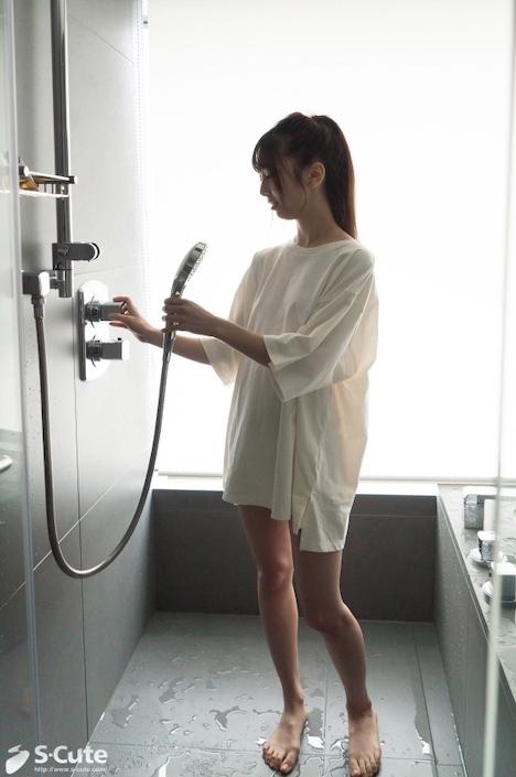 【S-CUTE】yuuri S-Cute 美脚美少女はベッドの上で果てる 13