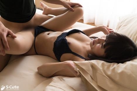 【S-CUTE】ami S-Cute パイパン娘と体温を感じ合うSEX 8
