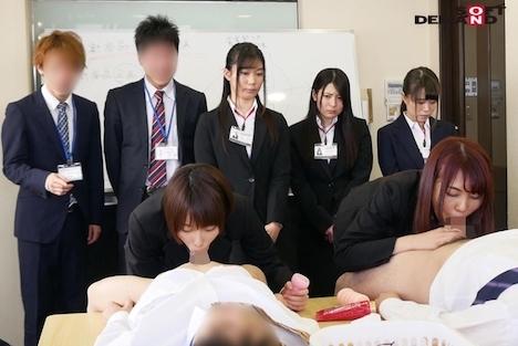 2019年度入社のSOD新人女子社員19名がAV制作の裏側を体験 19発の精液を搾り取る超羞恥研修 川菜美鈴