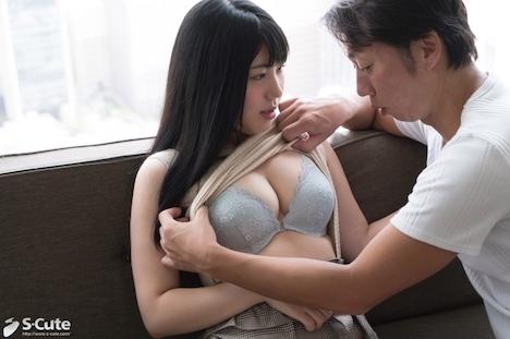 【S-CUTE】なつ (18) S-Cute 色白巨乳に包まれるセックス 3