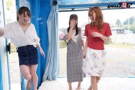 【SODマジックミラー号】東日本1エロい3人組 ヤリチン君に聞いた「エロいセフレを紹介してください」 2