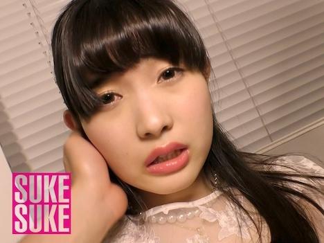 【新作】友利ほのか×SUKESUKE #007 天然色白美少女ロリ女優_シースルーの誘惑 (美甘りか) 9