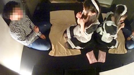 【黒船】【裏オプリフレ嬢×無許可中〇しin新宿】歌舞伎町で噂の裏オプリフレ嬢を潜入調査…闇営業が常態化した色白メイドに中〇しww 2