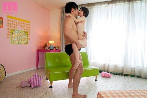 【新作】フェラチオやSEXの練習がしたくて来ました。 新人 身長135cmの女の子デビュー 椿ゆな 9