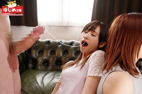 目指せ1000mm!第一回仲良しイラマチオ汁競争! 女子大生に声をかけイラマチオ汁どこまで伸ばせるか対決!