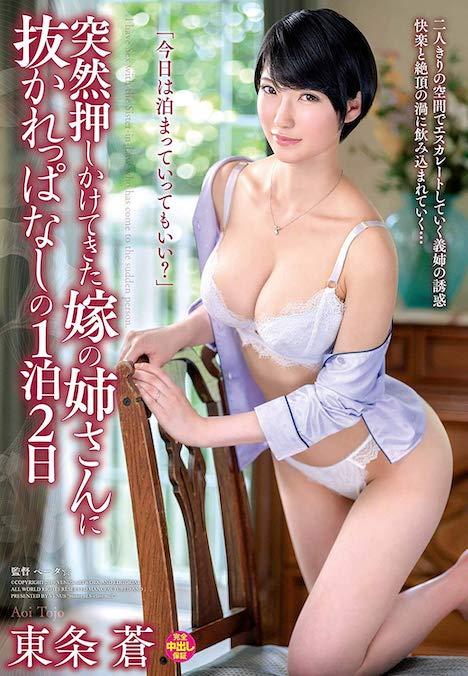 突然押しかけてきた嫁の姉さんに抜かれっぱなしの1泊2日 東条蒼