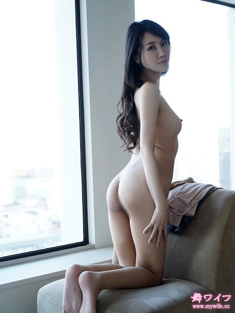 【舞ワイフ】七尾あかり(28) 長身スレンダー美ボディの美女が普段では味わうことのできない快楽を得るために出演を志願! 3