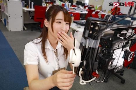 【VR】SOD女子社員宣伝部・中途1年目 吉岡明日海(26)台本なし!VR撮影初体験ドキュメント 生々しい初心な反応・アドリブ奉仕をお届け! 3