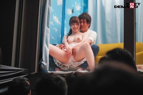 【SODマジックミラー号】逆転ミラー号!高校時代のマドンナを同窓会で公開羞恥・かれん 9