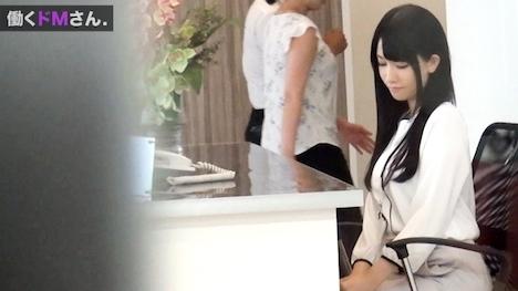 【プレステージプレミアム】働くドMさん Case 25 外資系企業 受付:相澤さん:22歳 艶やかな黒髪、白い美肌は会社の顔たる受付嬢にうってつけの清楚感。 6