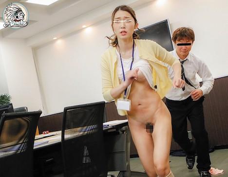 オフィスOL追いかけ回し中出しチカン 香苗レノン