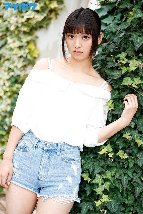 【新作】新人 19歳AVデビュー FIRST IMPRESSION 136 純心少女 ―幼くも力強い大きな瞳の少女― もなみ鈴 4