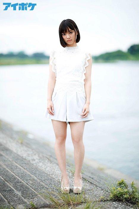 【新作】新人 19歳AVデビュー FIRST IMPRESSION 136 純心少女 ―幼くも力強い大きな瞳の少女― もなみ鈴 5