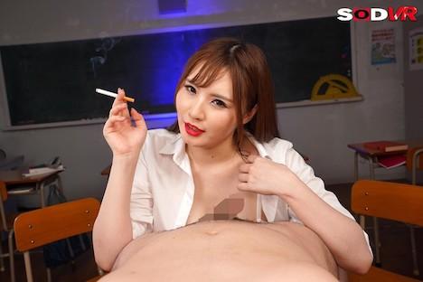 【VR】喫煙フェラチオVR 煙草とチ○ポを交互に吸う女たち 藤白桃羽