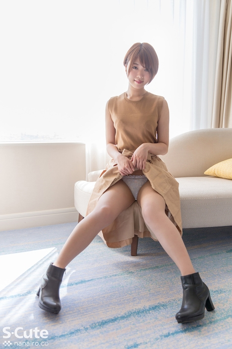 【S-CUTE】いちる(20) S-Cute ショートカット美人の性の営み 3