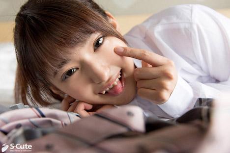 【S-CUTE】みつき(20) S-Cute ポニーテール制服美少女のじゃれ合いH 4