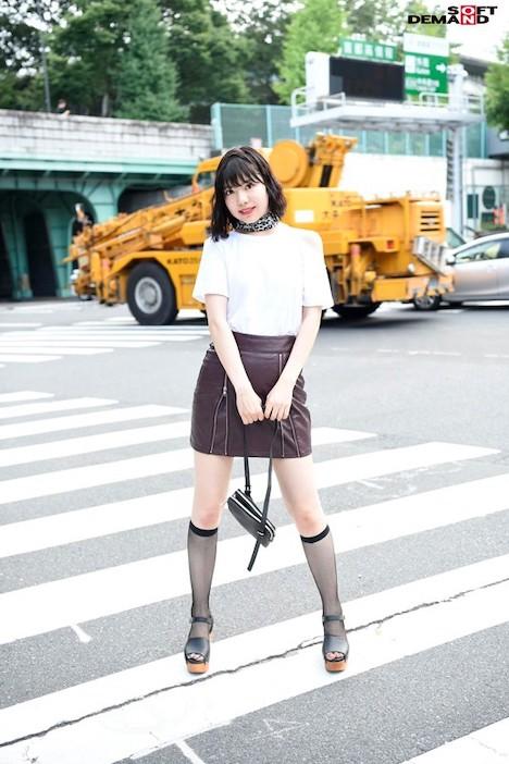 【新作】スナップ常連イケイケ読者モデルはエッチ大好きな超肉食女子 もっと感じてみたくてAV debut 黒江リィナ 8