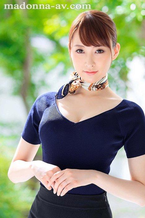 【新作】新人 現役人妻キャビンアテンダント 青山翔 28歳 AVDebut!! 2