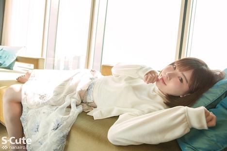 【S-CUTE】えいみ(21) S-Cute 色白美人の流線美に魅了されるセックス 4