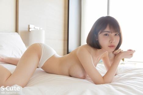 【S-CUTE】えいみ(21) S-Cute 色白美人の流線美に魅了されるセックス 5