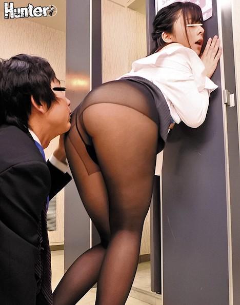 黒パンスト美脚&神尻女子社員だらけの会社に男はボク1人!やっとの思いで転職できた会社は女子社員だらけで男はボク1人!常日頃から仕事が忙しく… 岬あずさ
