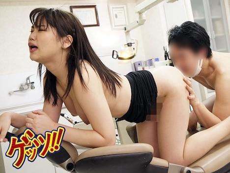 歯医者で麻酔薬でなく媚薬を嗅がされた人妻。急いで逃げるも間に合わず無念発情!! 持田栞里