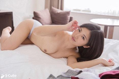 【S-CUTE】あおい(25) S-Cute 黒髪美人に見つめられるSEX 5
