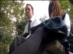 JKの足臭に理性を失ったリーマン