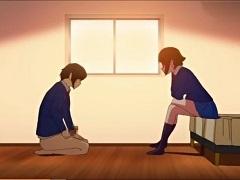 【アニメ】憧れの先輩をM男調教する後輩JK