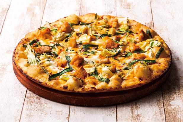 8 チーズタッカルビピザ