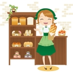 gatag-00007902 パン屋さん