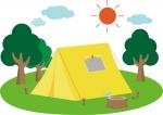 【△】キャンプ人気が再燃。手ぶらで豪華なテント泊、1人でのキャンプなど、楽しみ多様化