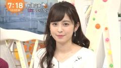 久慈暁子アナ一日警察署長パンチラ画像8