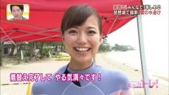 斎藤真美アナウェットスーツ画像2