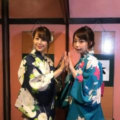 鷲見玲奈アナと宇垣美里アナTバック画像5